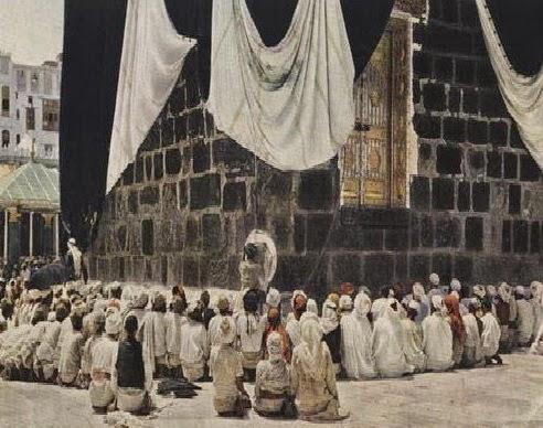 Peristiwa Membaik Pulih Kaabah di Zaman Rasullulah SAW