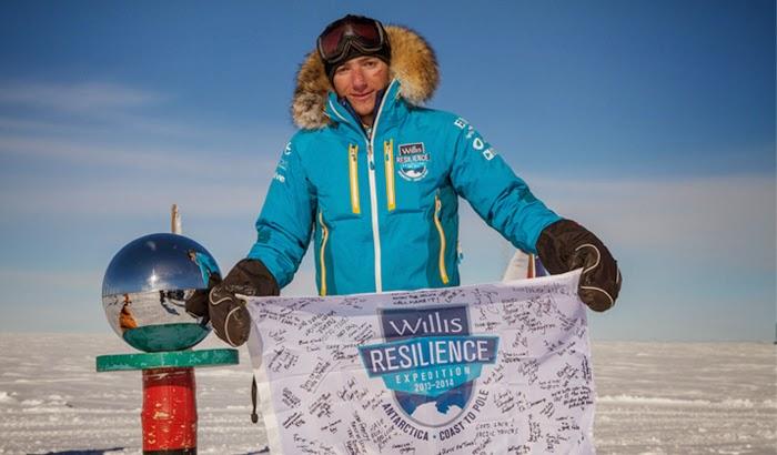 Parker Liautaud, Jelajahi Kutub untuk Kampanye Perubahan Iklim