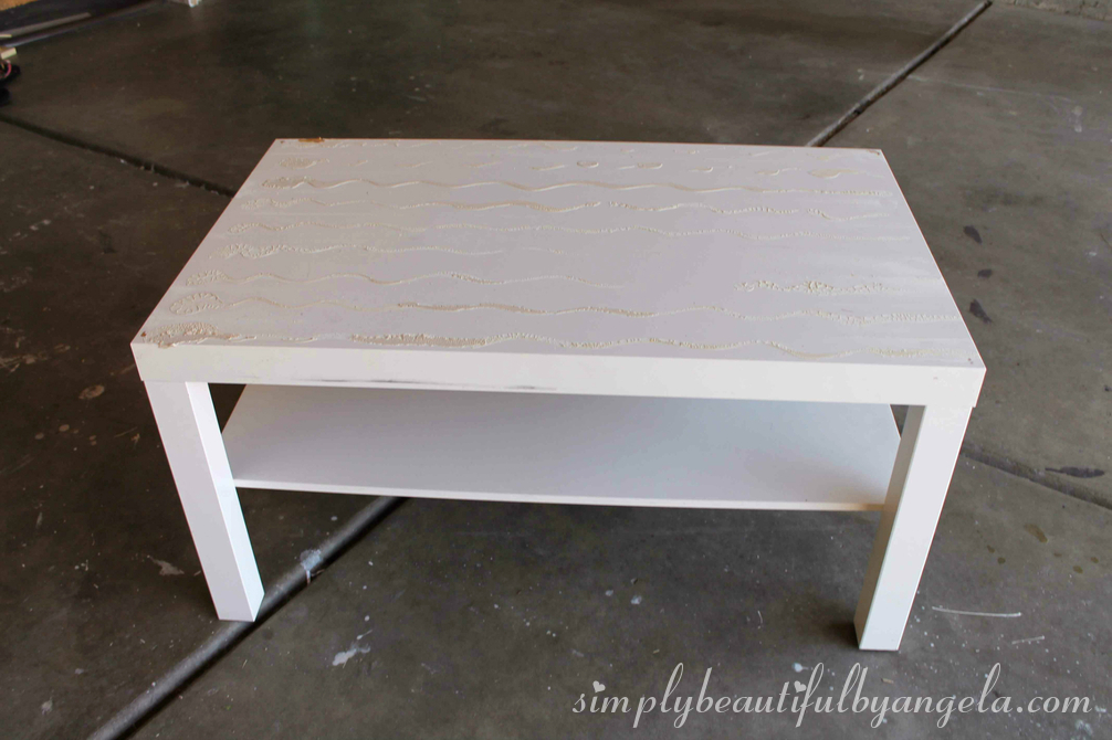 simply beautifulangela: ikea table makeover (take two!)