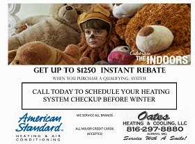 Oates Heating & Cooling LLC