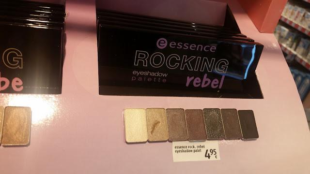 essence Master pieces Lidschatten Swatches Rocking rebel
