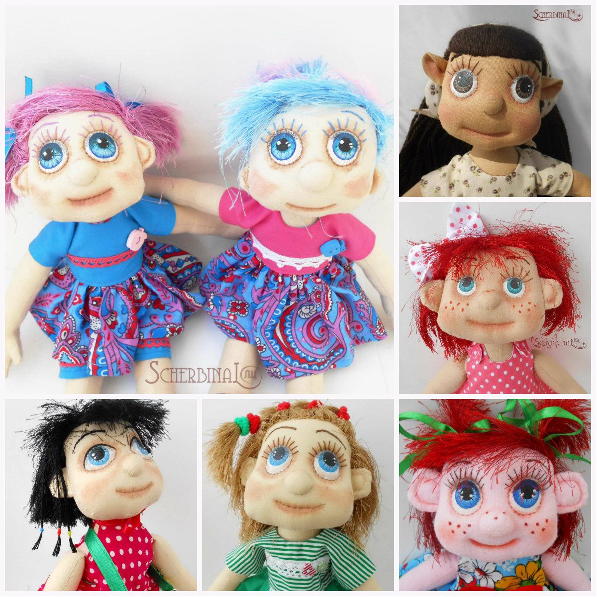 игровые куклы-карамельки людмилы щербина
