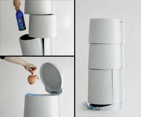 20 Tempat Sampah Terunik di Dunia: Tri3 Trash Can