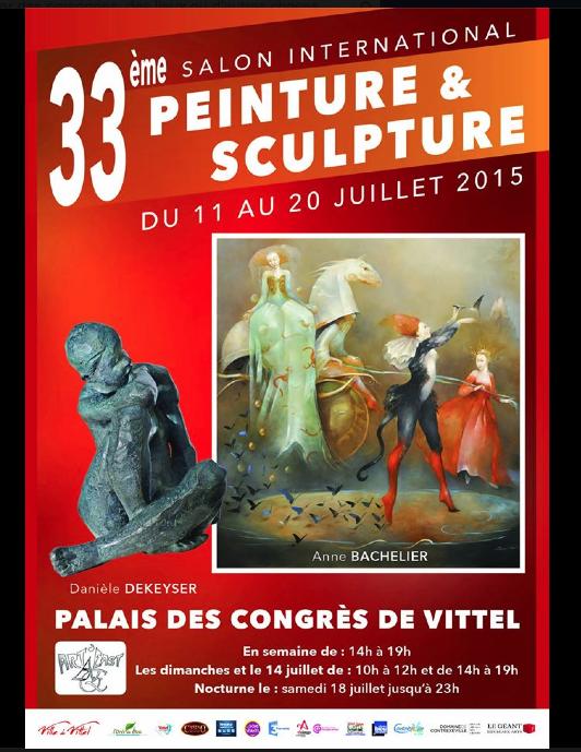 Art monie palais des congr s de vittel 33 me salon international - Salon de l emploi palais des congres ...