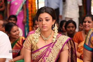 Kajal-Agarwal-Stills-in-Saree