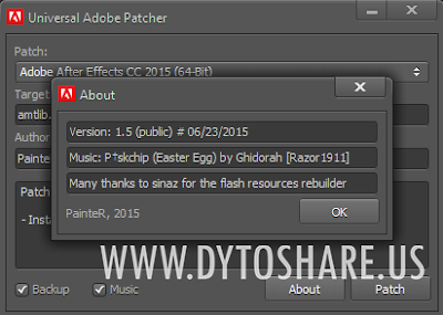 Universal Adobe Patcher 1.5