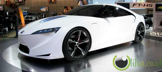 Toyota FT-HS Hybrid Sports Car concept