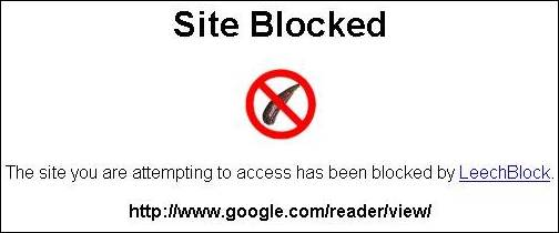 Site Blocked