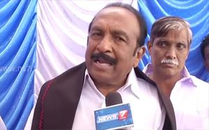 Vaiko appreciates Govt's move to build Manimandapam for Sivaji Ganesan