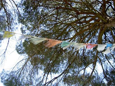 Banderas Tibetanas, Cuenco tibetano, Budismo Tibetano, Primavera,