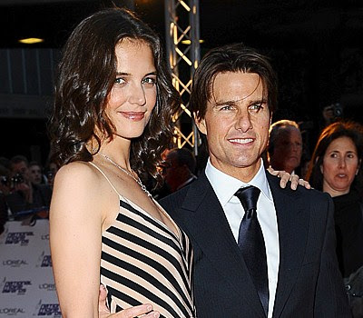 Katie Holmes Height  Weight on The Height Gap Appears Larger Katie Holmes And Tom Cruise