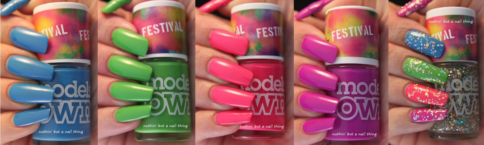 Models Own Festival Collection Swatches