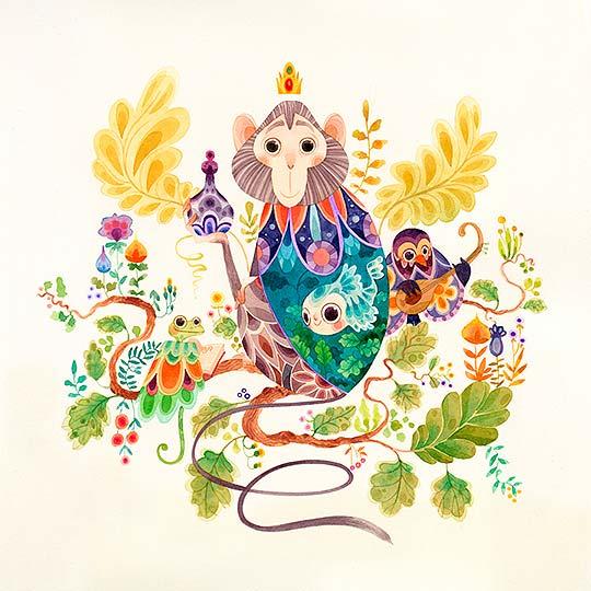 Ilustración de Lorena Álvarez Gómez