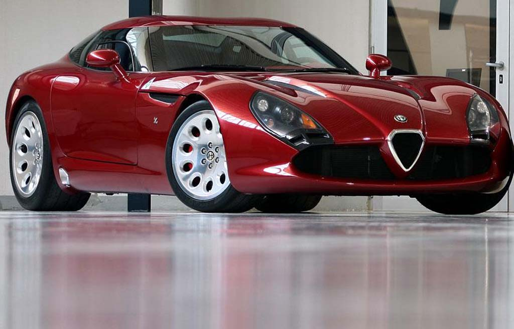 Alfa romeo tz3 stradale zagato top speed 7