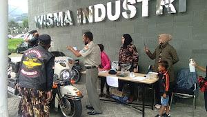 KB FKPPI Rayon Cisarua Dan Bikers FKPPI Bogor Sambut Anak Kolong Bikers Indonesia Dengan Protokoler Covid -19