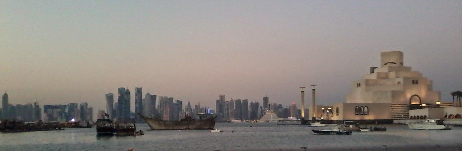Doha Qatar Arabian Gulf Water