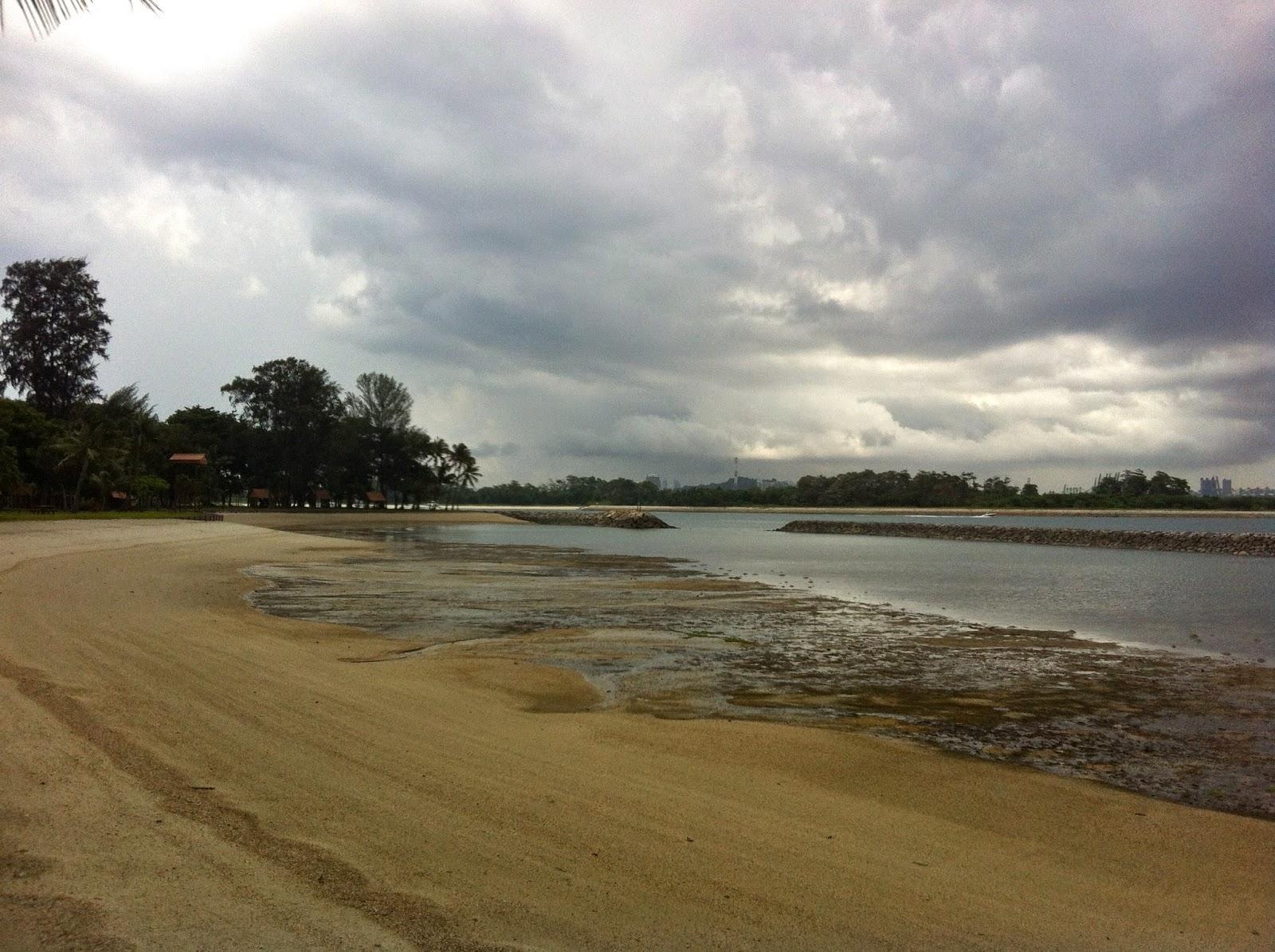 Kusu island beach