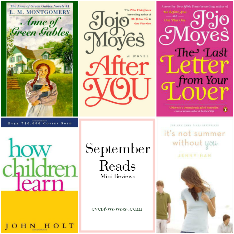 September Reads: Mini Reviews