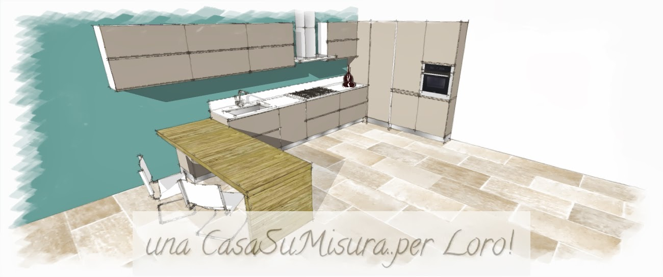 una CasaSuMisura ... per Loro! : Come progettare la cucina