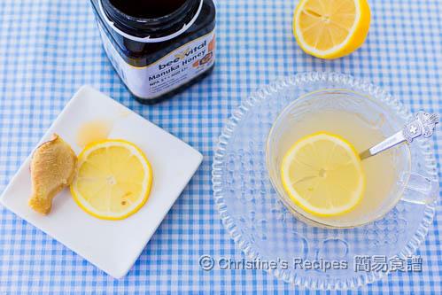 Lemon Ginger Honey Tea02