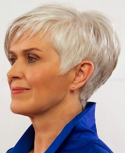 Inspiration short haircuts for women over 50 to look Wise - Hair