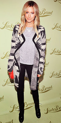 Ashley Tisdale, fashion, style
