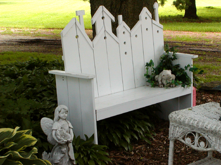birdhouse bench plans