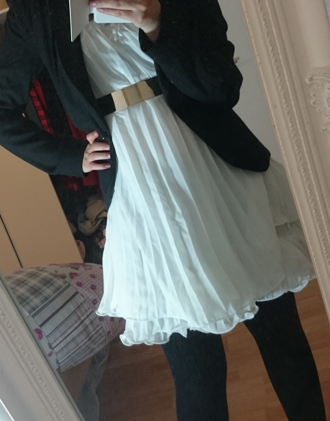 Outfit Weißes Kleid