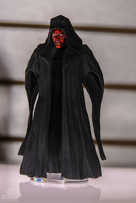 Hasbro Star Wars 2013 Toy Fair Display Pictures - The Black Series Darth Maul figure