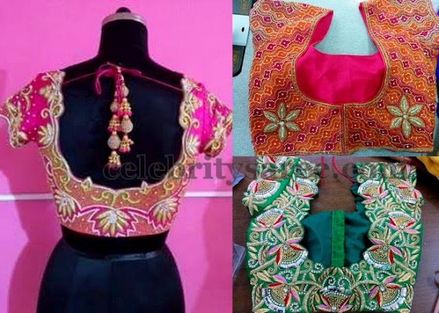 Latest Blouse Designs for Sale