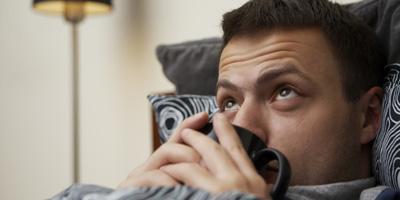 How to Stay Healthy During the Flu Season - sick man guy