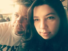 Eu e minha linda Fernanda...