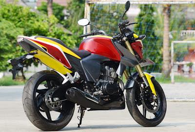 Label: HONDA , Honda Mega Pro , Modifikasi Motor Honda Mega Pro