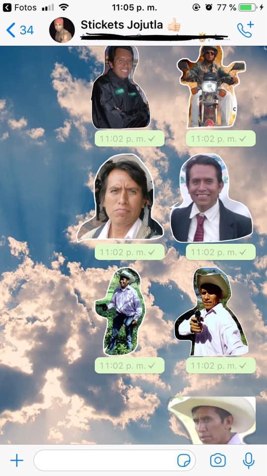 ANTONIO MORQUECHO EN LOS STIKERS