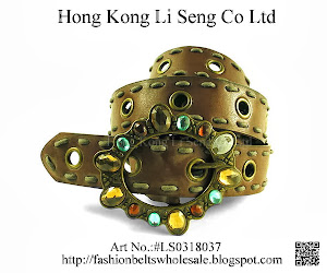 Fashion Belts Wholesale, Manufacturer and Supplier - Hong Kong Li Seng Co Ltd