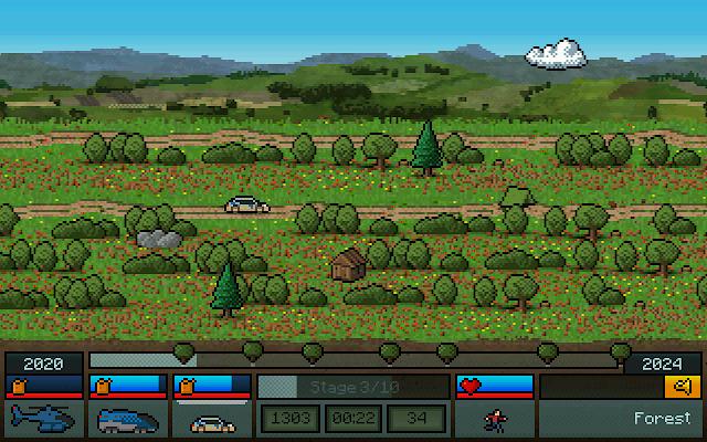 Más de 1000 coches nos esperan en Switchcars, un divertido arcade de velocidad 2D