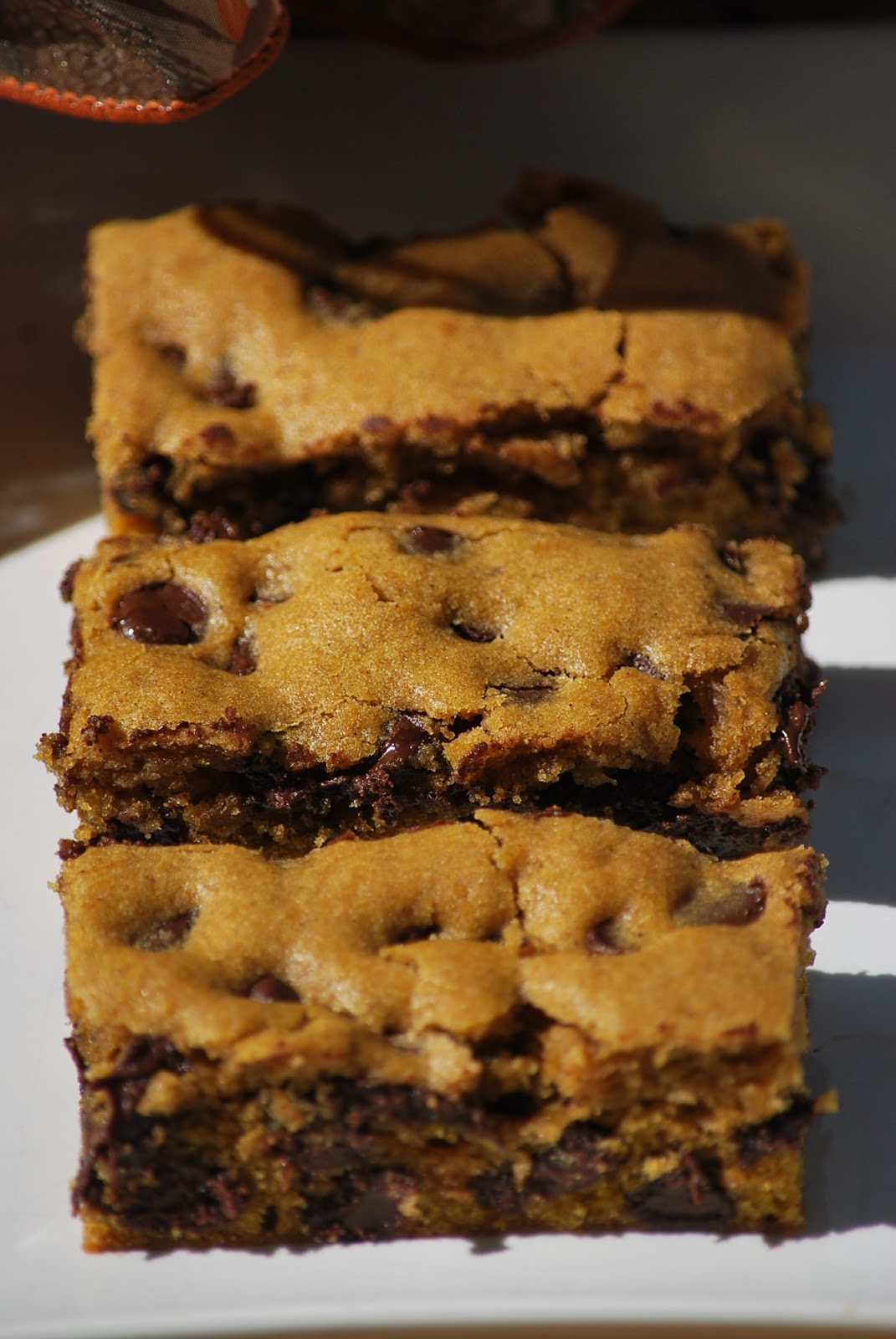 Pumpkin Chocolate Chip Bars are delicious. (If I do say so myself.) As ...