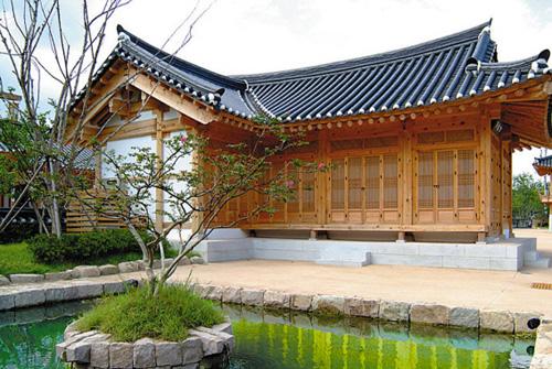 Demam korea intip desain rumah tradisional korea hanok for Case tradizionali giapponesi