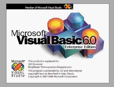 Tahap Perancangan Program, Cara Desain Form dan Menu Utama, Cara Penulisan Coding, Membuat dan Mengkoneksi Database, Membuat File Laporan dan File Installer Program di Blog Tutorial Visual Basic 6.0