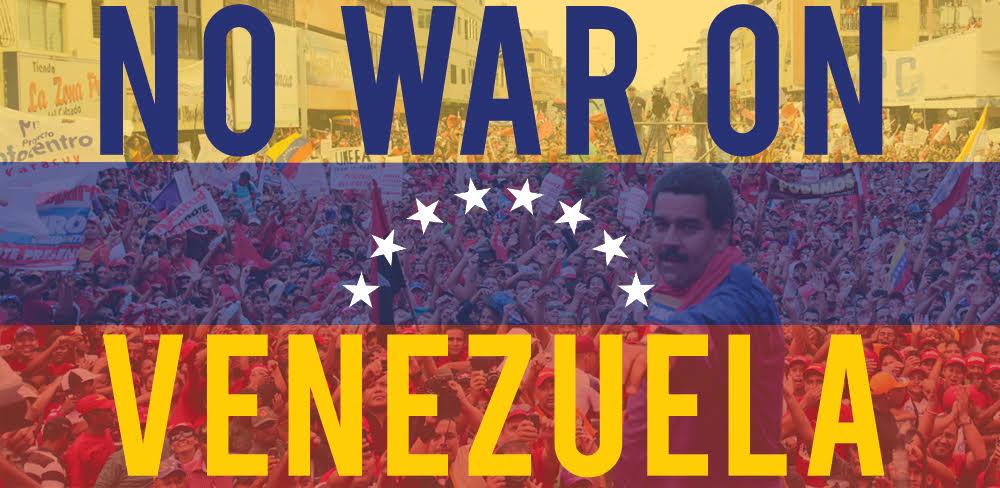 Manifestation pour la Paix et le réspect de la Souveraineté de l'Amérique Latine