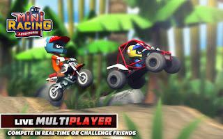 لعبة سباق المغامرات Mini Racing Adventures كاملة للاندرويد 01.jpg