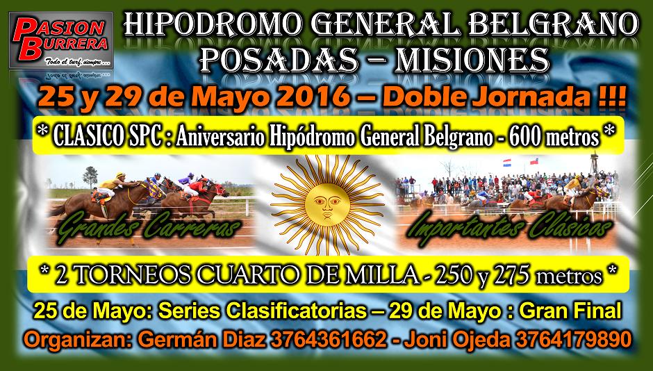 POSADAS - 25 Y 29 DE MAYO
