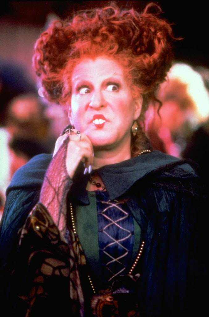 how to become winifred sanderson