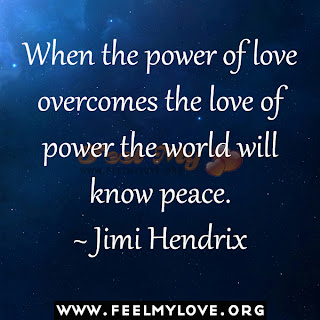 When the power of love overcomes the love