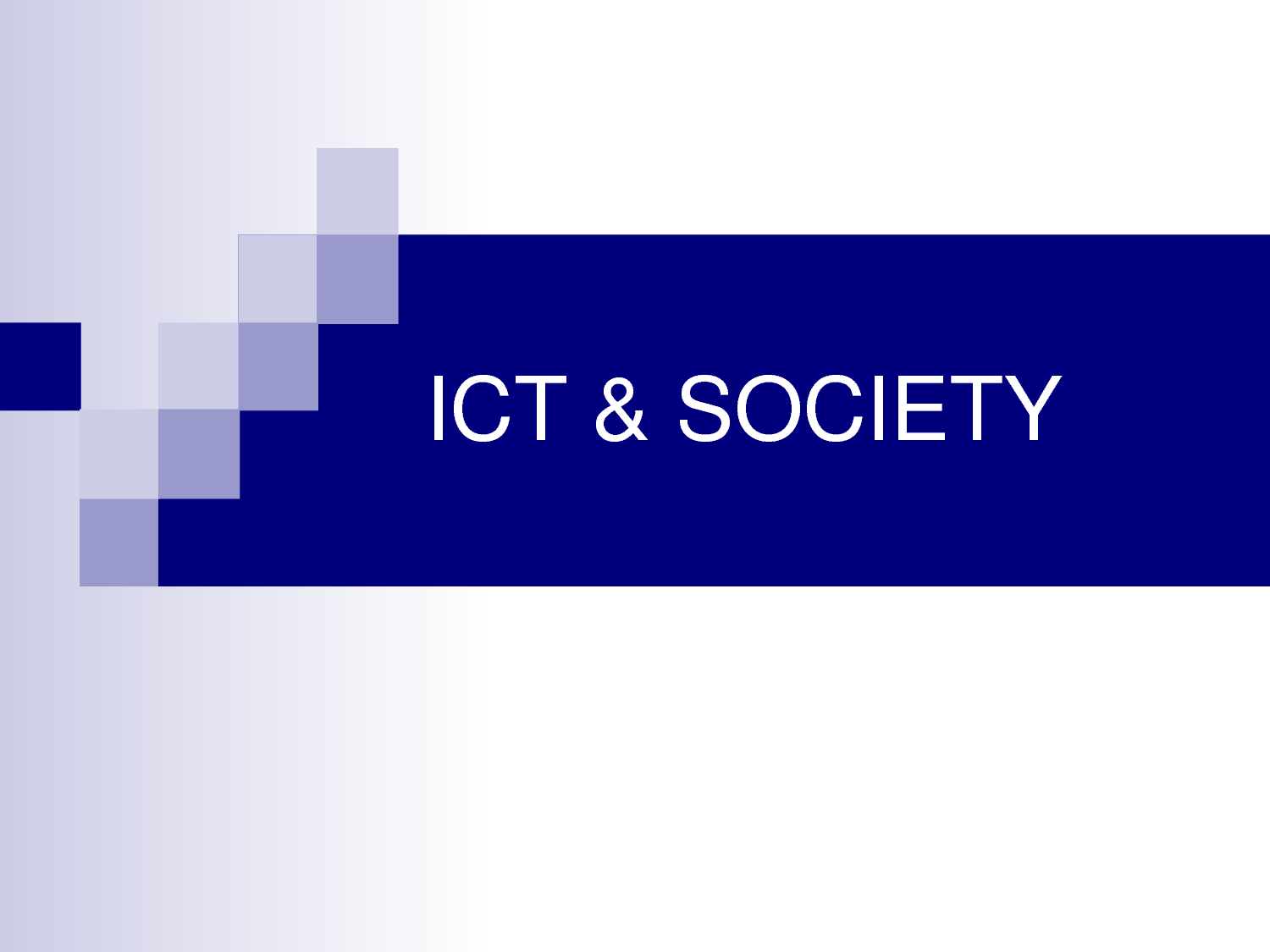 social impacts of ict