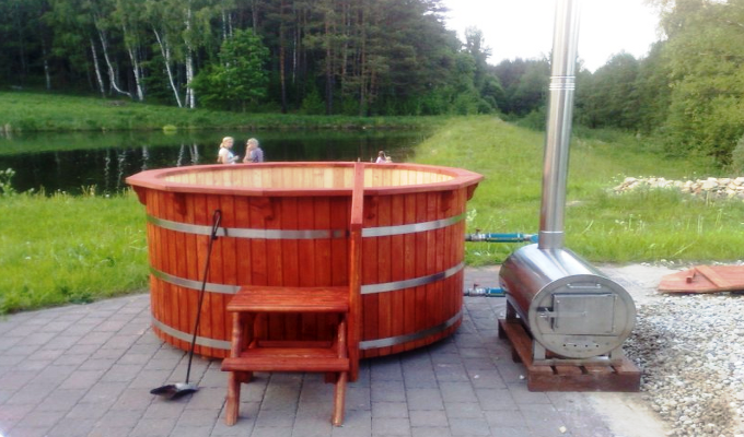 Wood Fired Hot Tub Heaters And Wood Fired Pool Heaters
