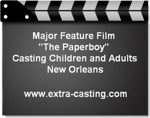 The Paperboy Extras Casting Call