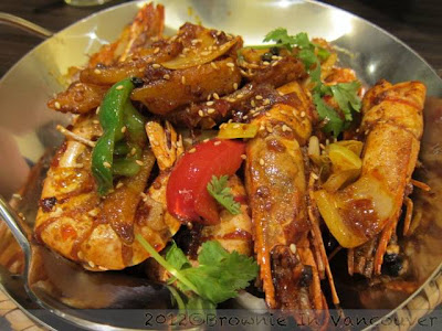 Xiao La Jiao Griddle Cooked Prawns