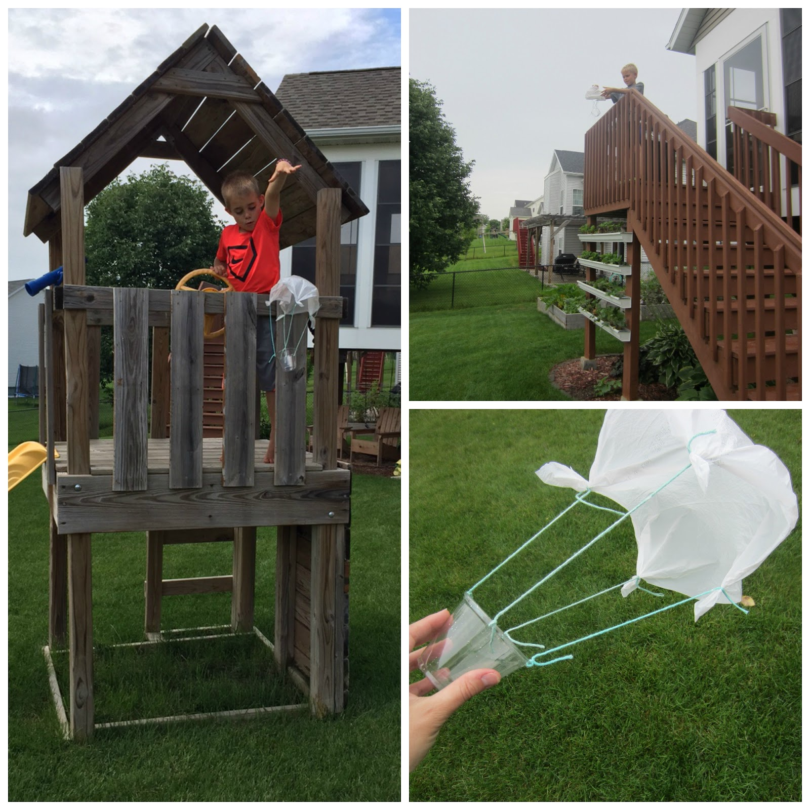 relentlessly fun deceptively educational diy parachutes and the
