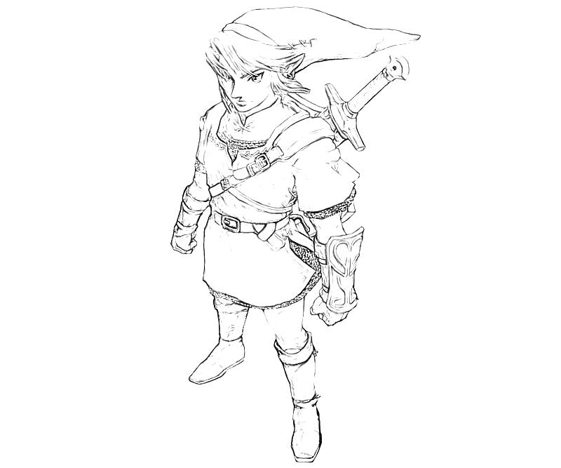 the-legend-of-zelda-link-character-coloring-pages